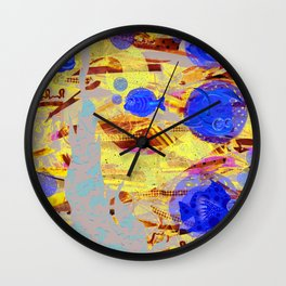 Starry Starry Water Wall Clock
