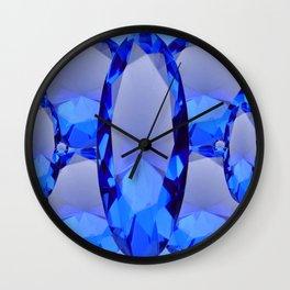 SEPTEMBER BLUE SAPPHIRE GEMS BIRTHSTONES Wall Clock