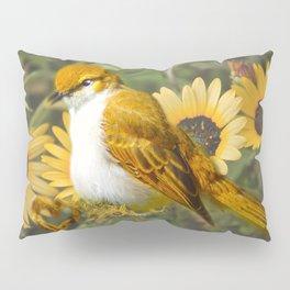 Feather Ball Pillow Sham