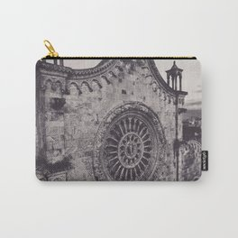 Aerial photography, Ostuni Cathedral, gothic architecture, Roman Catholic Church Carry-All Pouch