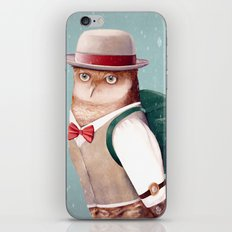 Going Home For Christmas iPhone Skin