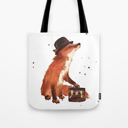 Downtown Fox Tote Bag