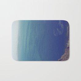 Sea green, ocean blue Bath Mat