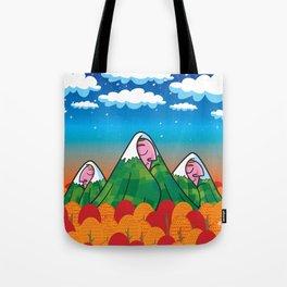 The sleeping giants Tote Bag