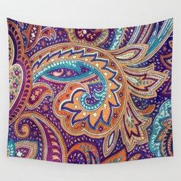 Summer paisley Wall Tapestry