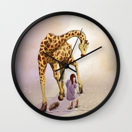 Let's go out! Wall Clock
