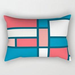 Bauhaus Abstract Pattern 09 Rectangular Pillow