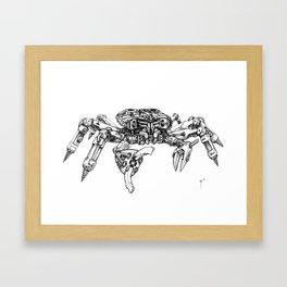 Crabatron Framed Art Print