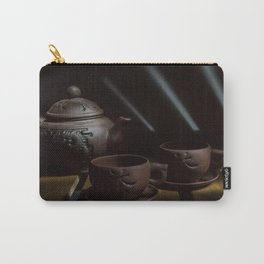teapot and cups Carry-All Pouch