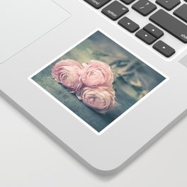 Lovely Ranunculus Sticker