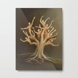 """Deforestation"" Metal Print"