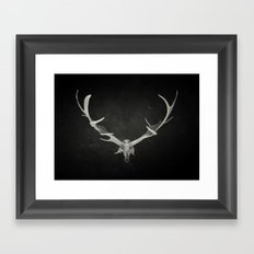 Dead King Framed Art Print