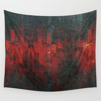 tits Wall Tapestries featuring Ruddy by Aaron Carberry