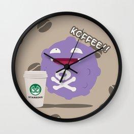 Koffee! Wall Clock