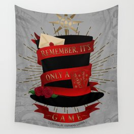 Remember, It's Only A Game | Caraval Wall Tapestry