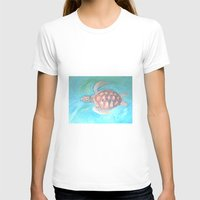 sea turtle T-shirts featuring Turtle by Victoria Bladen
