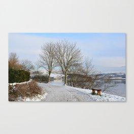 Hollingworth Lake Canvas Print