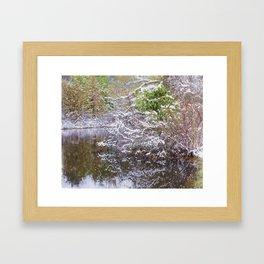 Boardman Lake  Framed Art Print