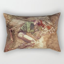Scary Monster Rectangular Pillow