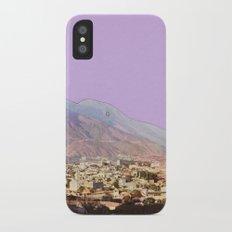 Lilac Skies Slim Case iPhone X
