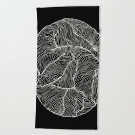 Inverted Infinity Beach Towel