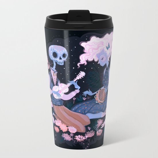Rhythm of Grief Metal Travel Mug