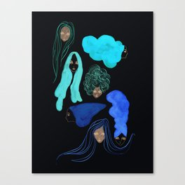 Hair 3 of 3 Canvas Print