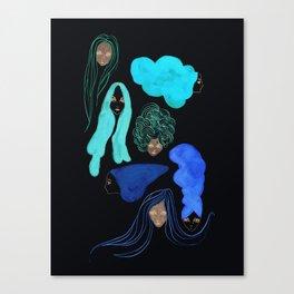 Hair 3 of 3 Canvas Print