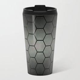 YELLOW HONEY COMB 01 Travel Mug