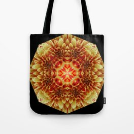 Yellow-With a Touch of Red Tote Bag
