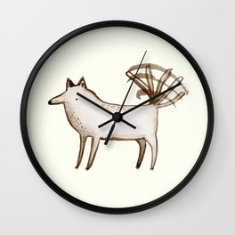"""I'm So Happy"" - Dog Wall Clock"