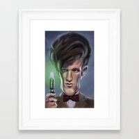 doctor Framed Art Prints featuring Doctor by dbruce