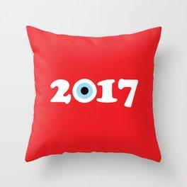 2017 Throw Pillow