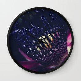 Passiflora Alata - Winged Stem Passion Flower - Ruby Star - Ouvaca Wall Clock