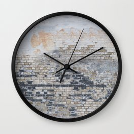 Old Bricks Wall Clock