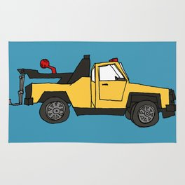 Tow Truck Rug