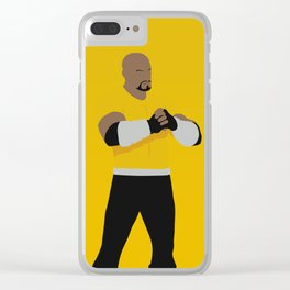 Luke Cage Clear iPhone Case