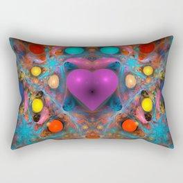 Peace Of My Heart Rectangular Pillow