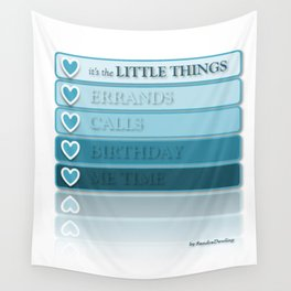 it's the LITTLE THINGS Wall Tapestry