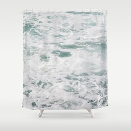 Ocean Pool Shower Curtain