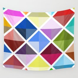 Colored World Wall Tapestry