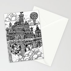 Floating city Stationery Cards