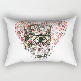 Toxic Love with Skull on the Barrel Rectangular Pillow