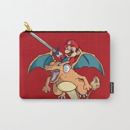 Mario Attack (parody) Carry-All Pouch