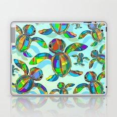 Baby Sea Turtle Fabric Toy Laptop & iPad Skin