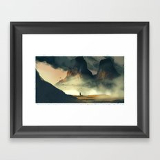 Twin dale Framed Art Print