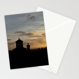 Sunset over Necropolis Stationery Cards