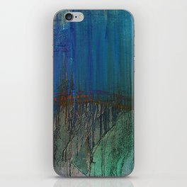 Azul iPhone Skin