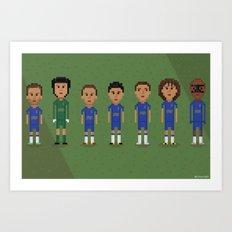 Chelsea FC 2013 Art Print