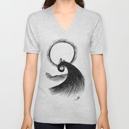 There's an Empty Place in my Bones Unisex V-Neck